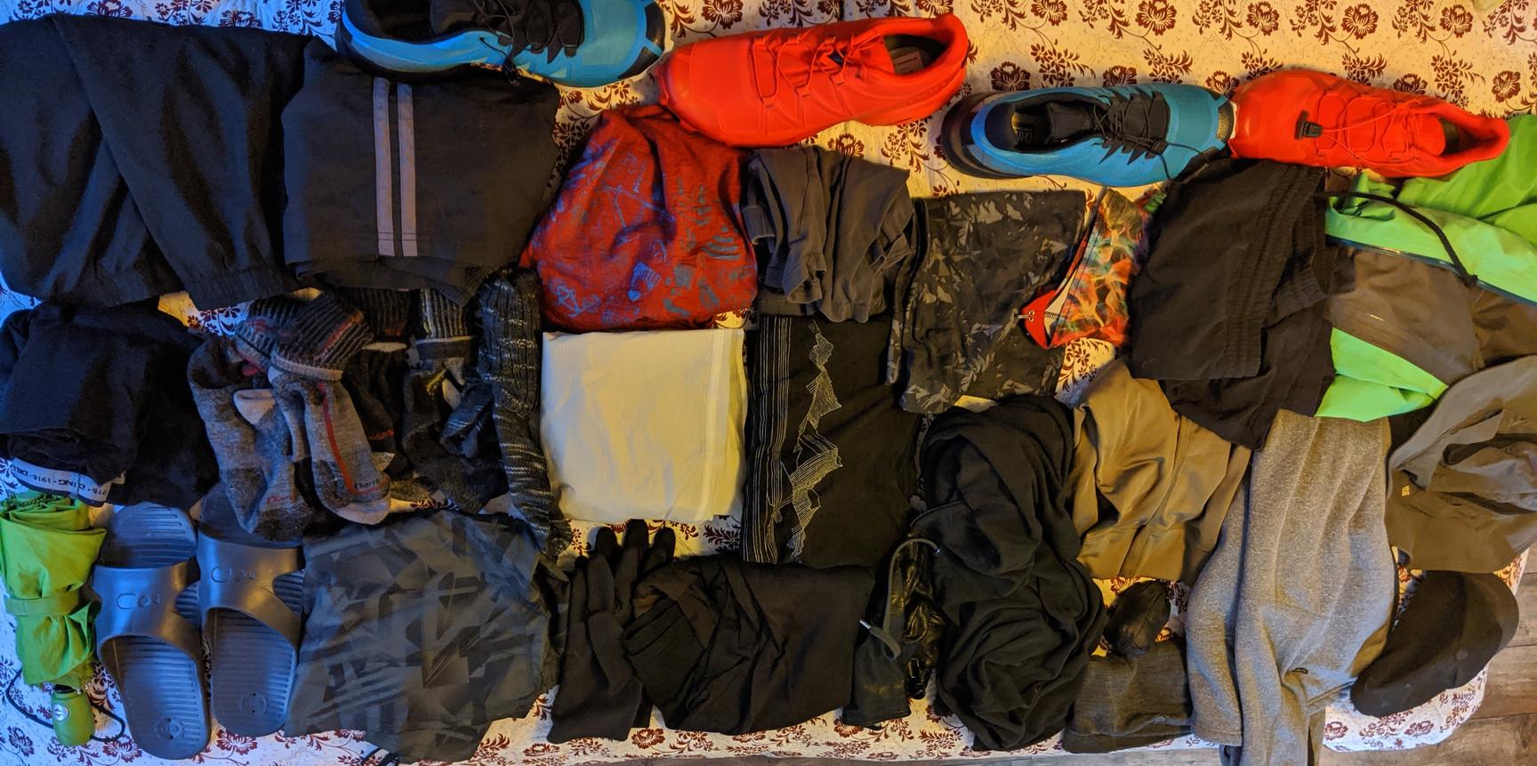 Packliste für den Te Araroa Trail 2020