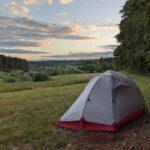 Tag 2 (5.6.20): Ich such nen Platz zum Zelten…